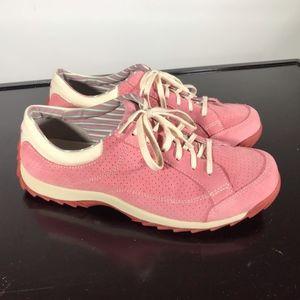 """SIMPLE """"Sugar"""" model Pink Suede sneakers Sz 10"""